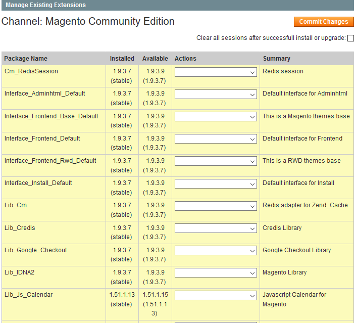 Latest Version while Magento Upgrade
