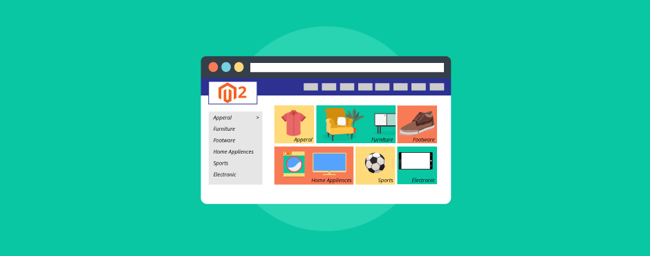 How to Display Magento 2 Subcategories With Image on Category page