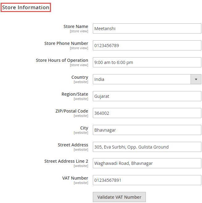 3_Store Information