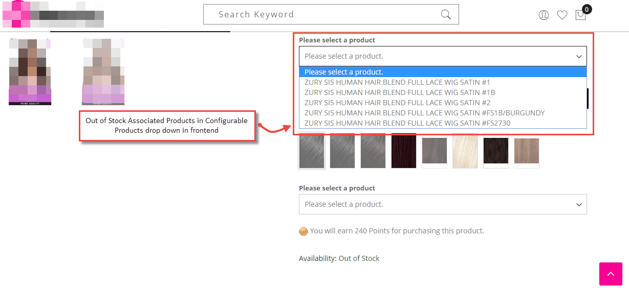 How to Show Magento 2 Out of Stock Associated Products in Configurable Products Dropdown