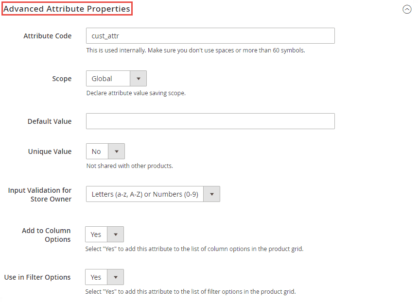 3_Advanced Attribute Properties