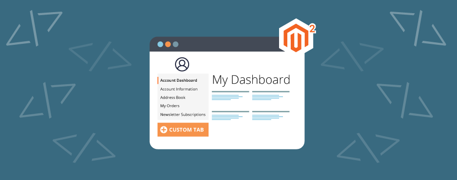 How to Add Custom Tab in Customer Account Dashboard in Magento 2
