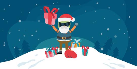 Mit Celebrating Christmas