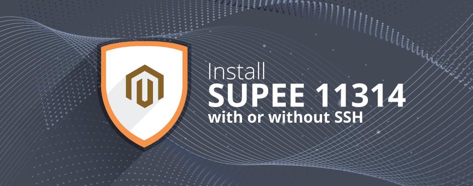 Install Magento SUPEE 11314