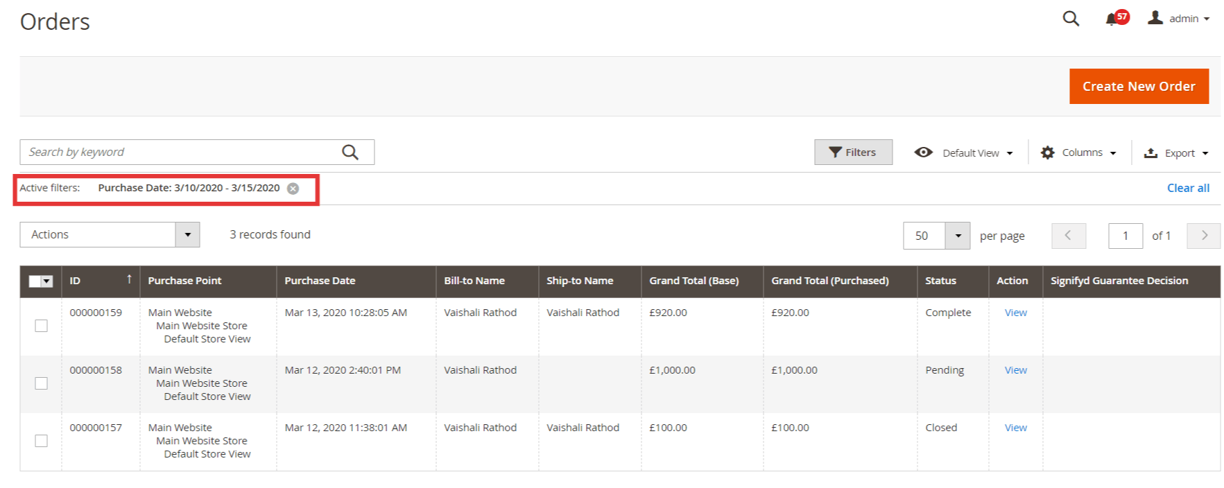 How to Filter Orders Between Two Dates in Magento 2 2