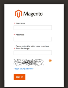 CAPTCHA enabled for the magento 2 admin login