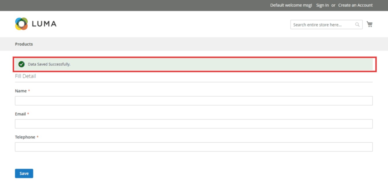 How to Save Form Data to the Custom Table in Magento 2
