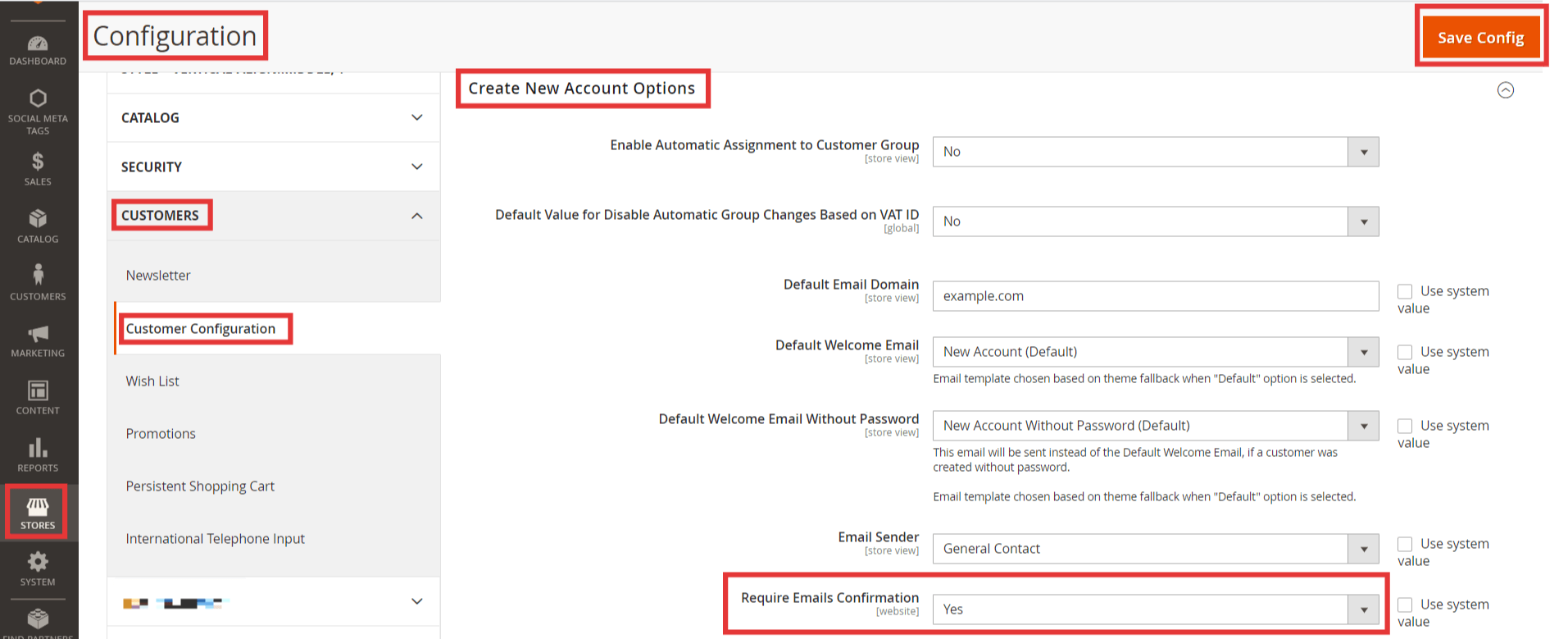 How to Send Confirmation Email on New Customers Registration in Magento 2 1
