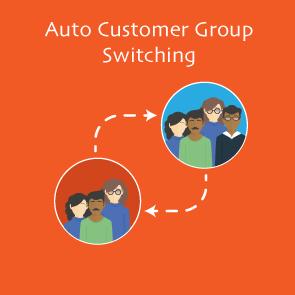 Magento 2 Auto Customer Group Switching