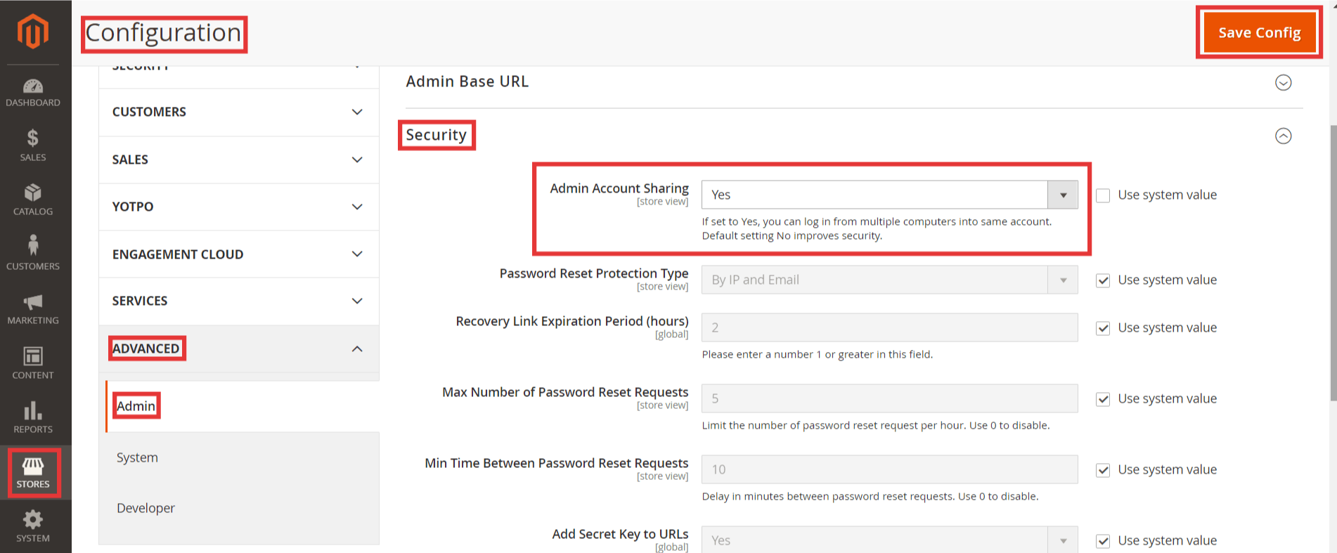 Steps to Allow Multiple Admin Login in Magento 2
