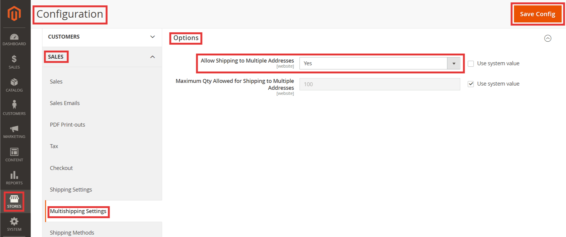 StepsConfigure Multiple Shipping Addresses in Magento 2
