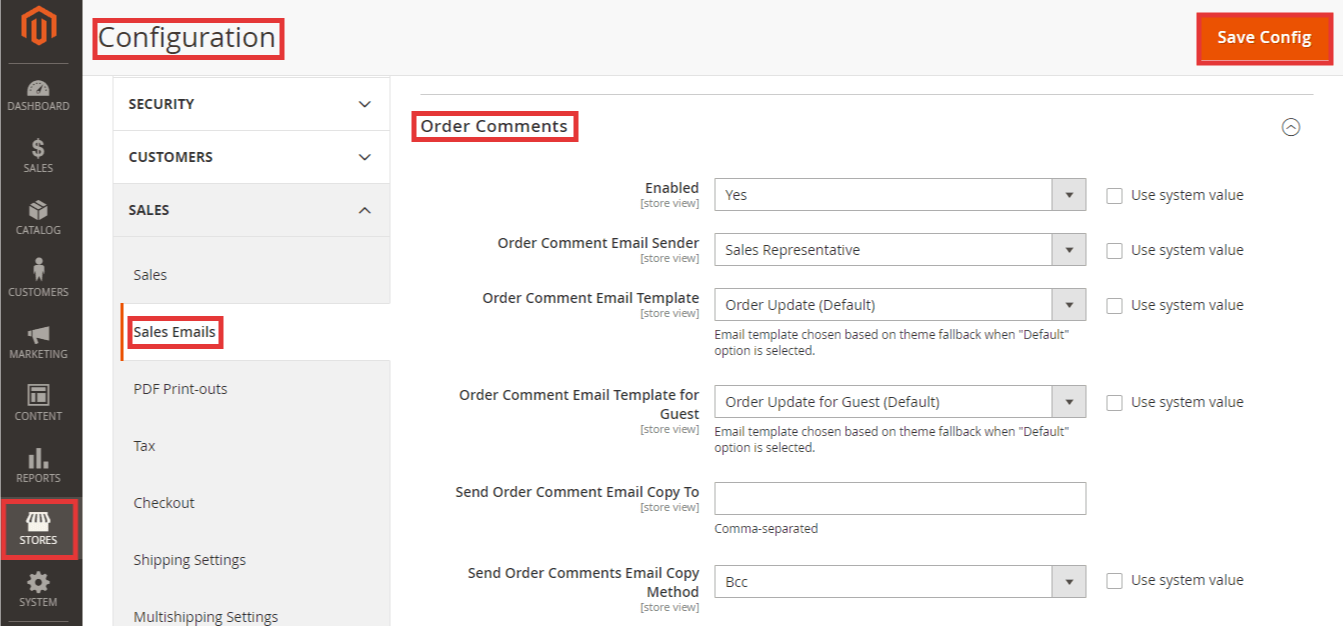 Steps to Configure Order Comments in Magento 2