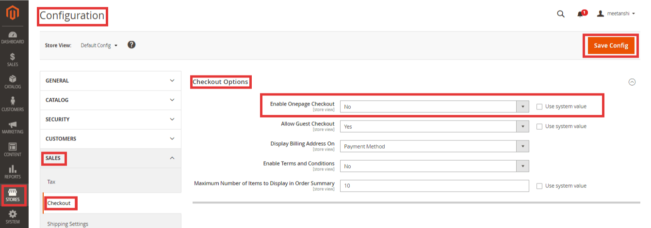 Steps to Disable Checkout in Magento 2