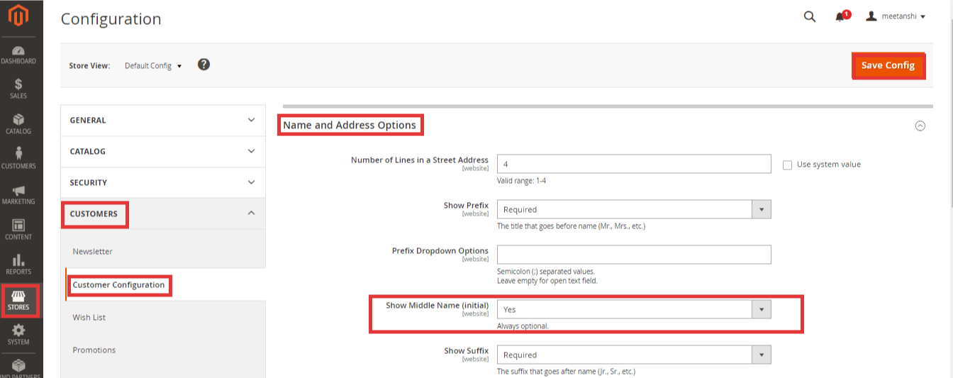 How to Enable Middle Name in Registration Form in Magento 2