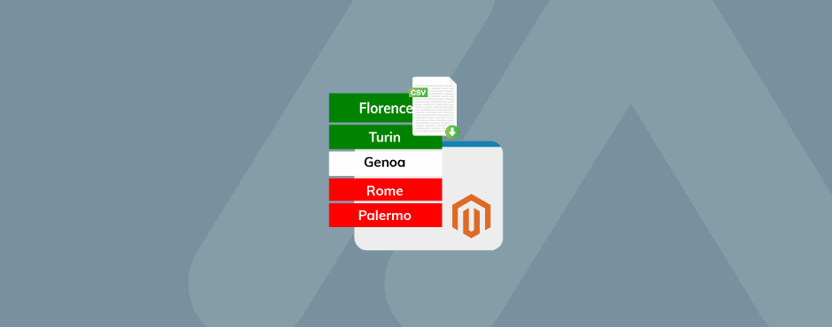 How to Import Italian States in Magento