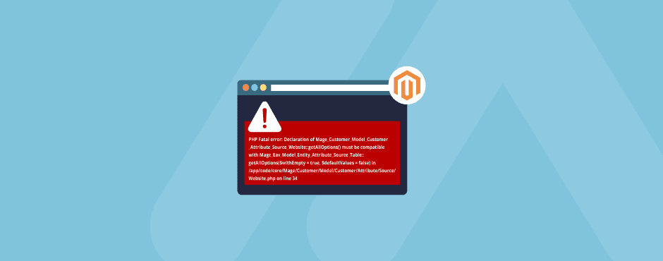 Magento 1 - PHP Fatal error: getAllOptions() on PHP7.2