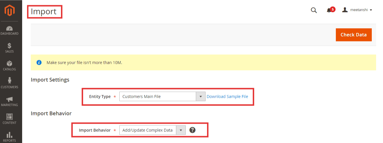 How to Import Customer Data in Magento 2