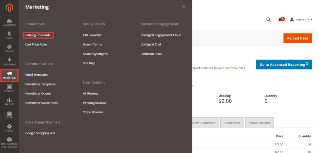 How To Add Catalog Price Rule in Magento 2