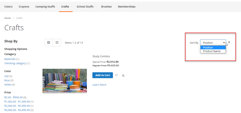 to Remove Sort by Price Option from Category Page in Magento 2