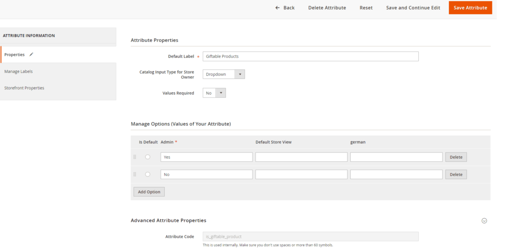 "add filterable product attribute in ""Product in Category"" in Magento 2"