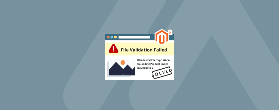 Solved: Disallowed File Type When Uploading Product Image in Magento 2