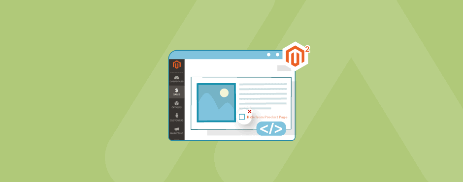 how to unhide product image in Magento 2