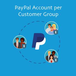 Magento 2 PayPal Account per Customer Group