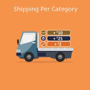 Magento 2 Shipping Per Category