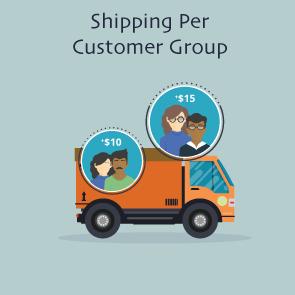 Magento 2 Shipping Per Customer Group