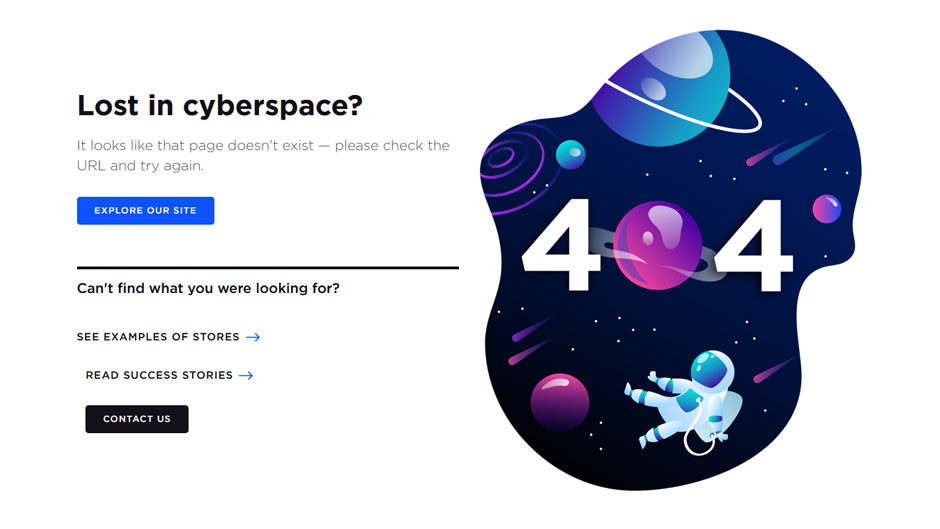 10 Best Creative 404 Pages Examples in E-Commerce [2021] 10
