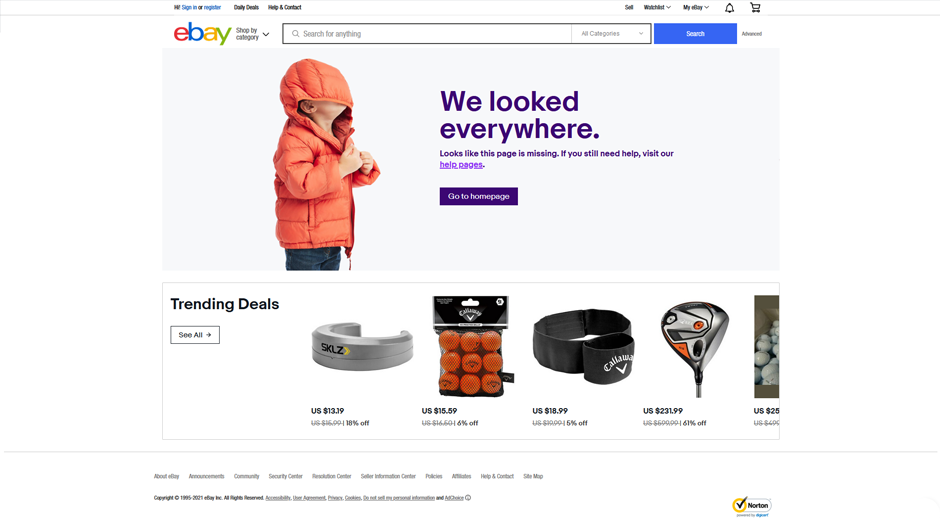 10 Best Creative 404 Pages Examples in E-Commerce [2021] 6