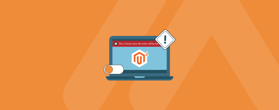 How to Enable/Disable Demo Store Notice in Magento 2
