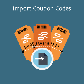 Magento 2 Import Coupon Codes