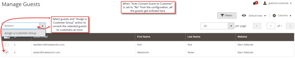 Convert Guest to Customer in Magento 2