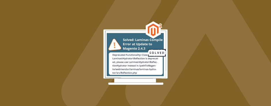 Solved: Laminas Compile Error at Update to Magento 2.4.3