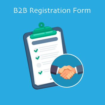 Magento 2 B2B Registration Form Base Image