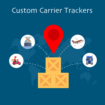 Magento 2 Custom Carrier Trackers Base Image