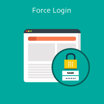 Magento 2 Force Login Base Image