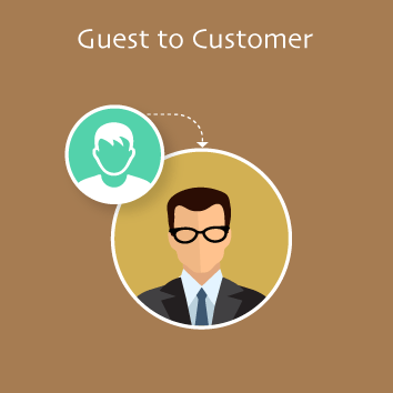 Magento 2 Guest to Customer Base Image