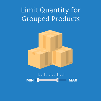Magento 2 Limit Quantity for Grouped Products Base Image