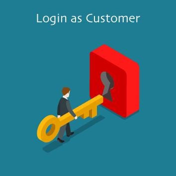 Magento 2 Login as Customer by Meetanshi