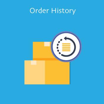 Magento 2 Order History by Meetanshi