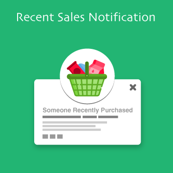 Magento 2 Recent Sales Notification Base Image