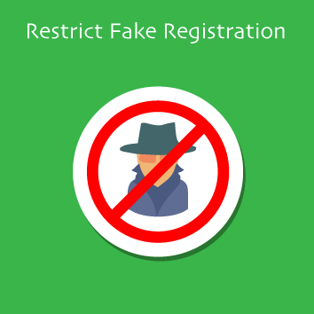 Magento 2 Restrict Fake Registration Base Image