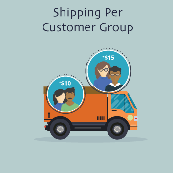 Magento 2 Shipping Per Customer Group by Meetanshi