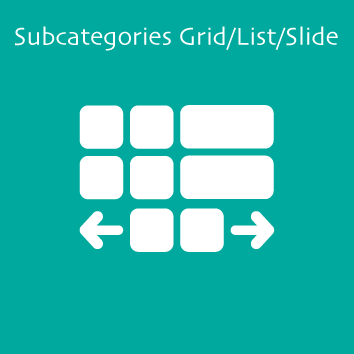 Magento 2 Subcategories Grid/List/Slide by Meetanshi