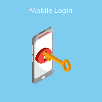 Magento Mobile Login Base Image