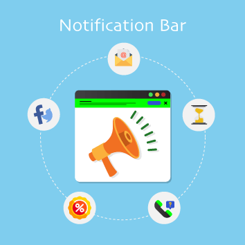 Magento Notification Bar Base Image