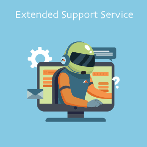 Extended Support Service for Magento Extensions by Meetanshi