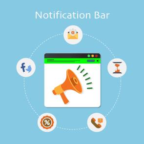 Magento 2 Notification Bar Extension